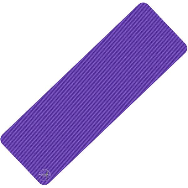 Trendy Sport: Fitnessmatte & Gymnastikmatte Fitnessmatte ProfiGymMat 180 Violett