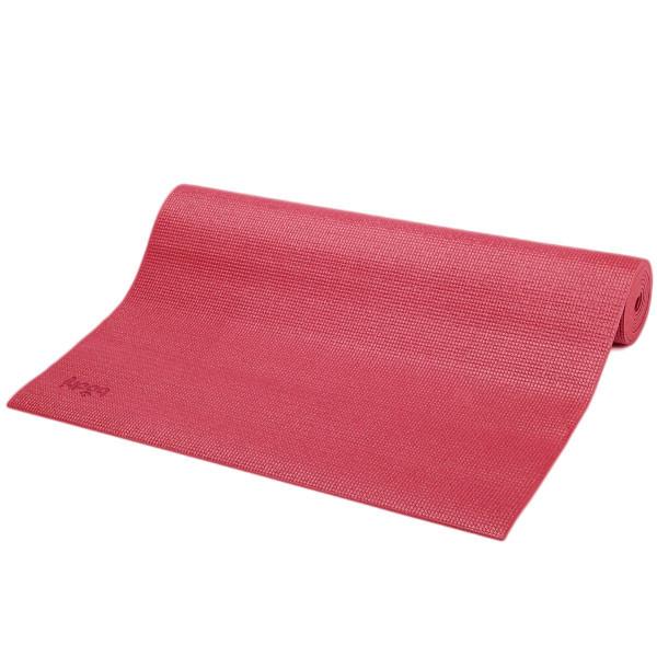 YOGISAN Yogamatte Asana für Einsteiger Red