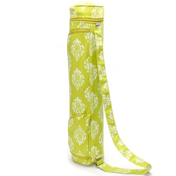 YOGISAN Yogatasche Design Cotton 60 Lime