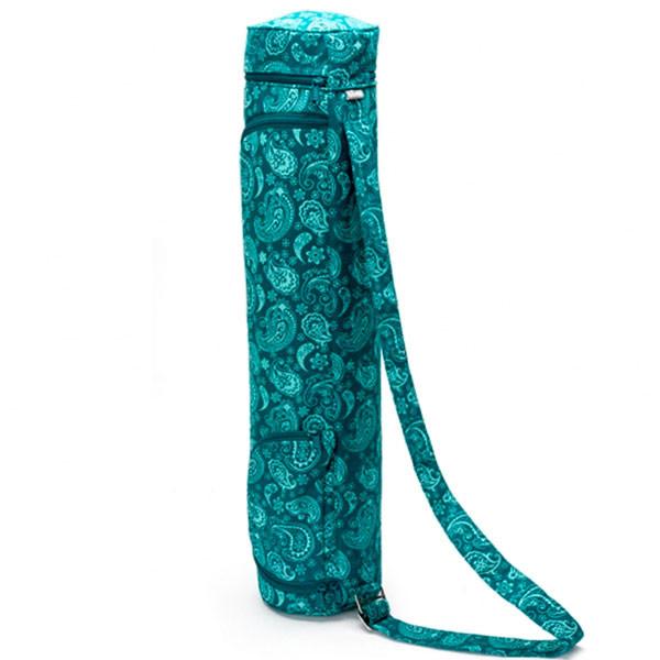 YOGISAN Yogatasche Design Cotton 60 Turquoise